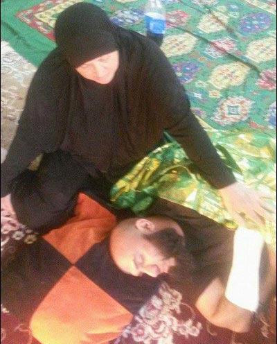 ابوعزرائیل مجروح شد! + عکس