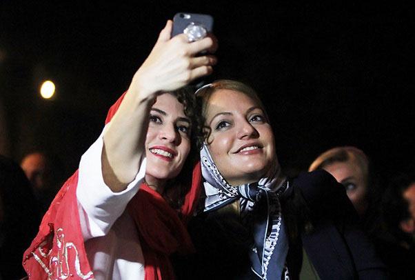 عکس های جدید مهناز افشار در جشن خانه سینما