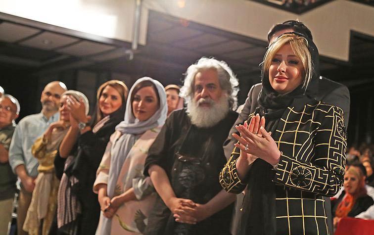 نیوشا ضیغمی و همسرش در کنسرت علی زندوکیلی / عکس
