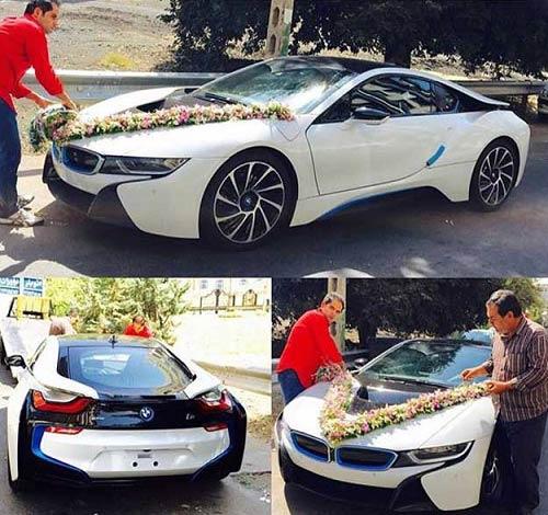 ماشین عروس ۲ میلیاردی در تهران! + عکس