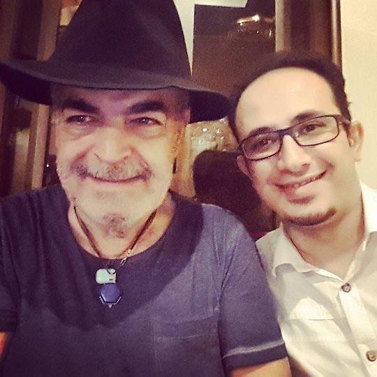 حمید لولایی با تیپ جدید / عکس
