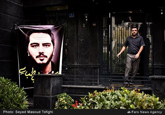 عکس از علی طباطبایی بازیگر سینما