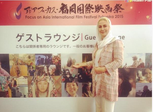 آنا نعمتی در ژاپن / عکس