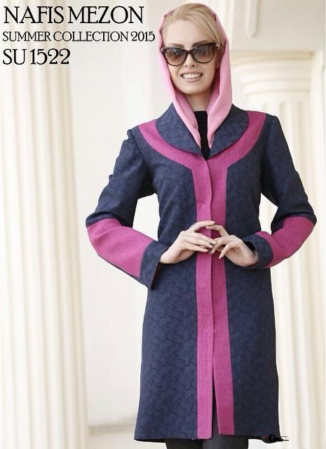مدل های جدید مانتو ایرانی ۲۰۱۵
