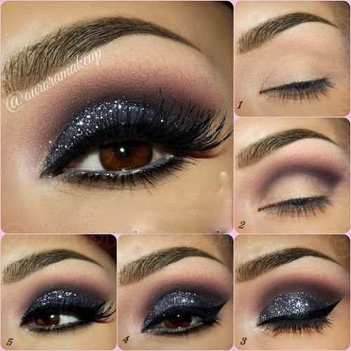 جذاب ترین مدل های آرایش چشم / ویژه عروس خانمها