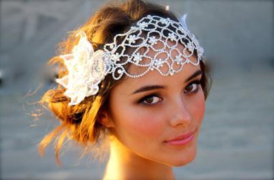 مدل های جدید مو عروس با تل و گیره های زیبا (۱)