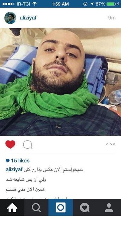 تکذیب انتشار خبر مرگ علی ضیا در اینستاگرام