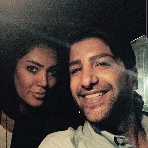 زانیار خسروی و همسرش / عکس