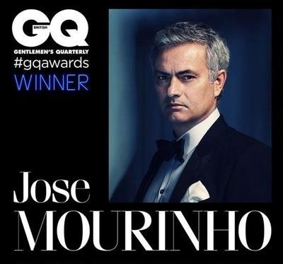 ژوزه مورینیو به عنوان مرد سال ۲۰۱۵ در نشریه مد