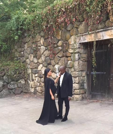 عکس های جدید کیم کارداشیان و همسر و دخترش