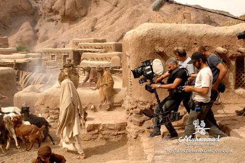 عکس های دیده نشده از فیلم محمد رسول الله