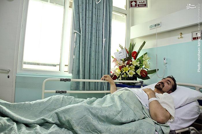 بستری شدن مجری معروف صبح بخیر ایران در بیمارستان