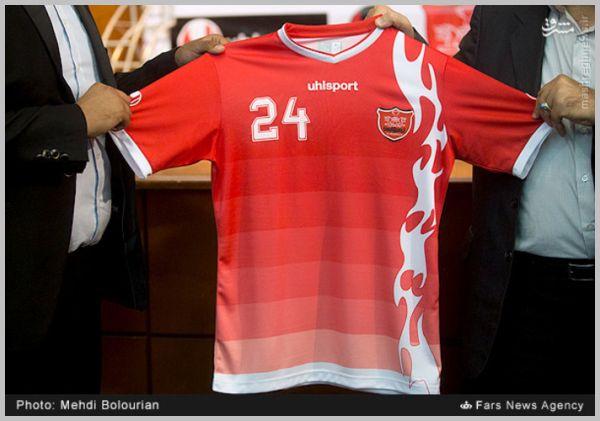 مراسم رونمایی از پیراهن جدید تیم پرسپولیس