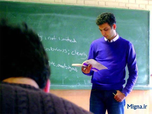 عکس / عادل فردوسی پور در حال تدریس