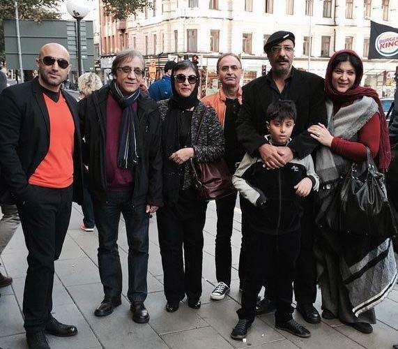 بازیگران مشهور ایرانی در سوئد + عکس