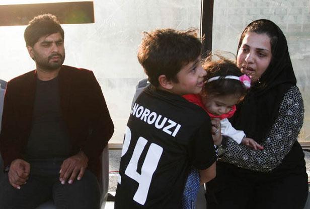 حرکت ناشایست پرسپولیسی ها با خانواده هادی نوروزی! + عکس