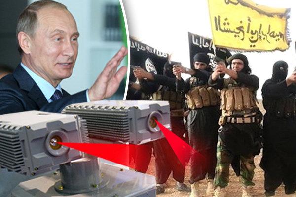سلاح جدید و وحشتناک روس ها بر علیه داعش + عکس