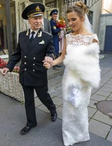 ازدواج عجیب هنرپیشه روس + عکس