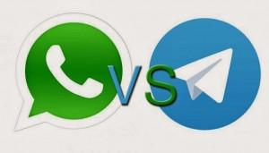 امنیت کدام بالاتر است،واتس آپ یا تلگرام؟