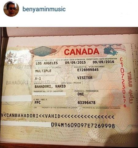 اسم واقعی بنیامین بهادری چیست؟