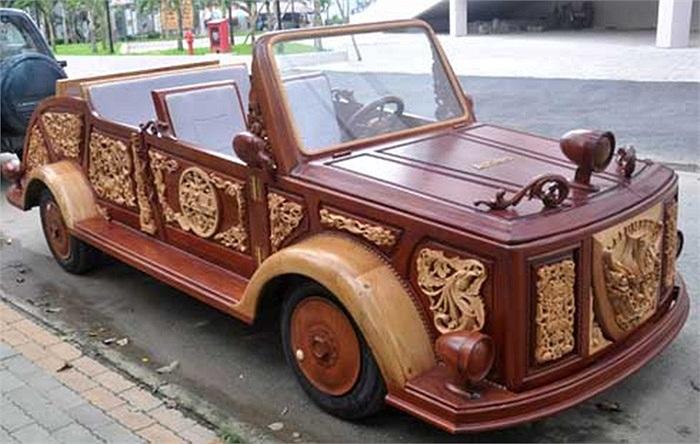 ماشین عروس چوبی در ایران + عکس