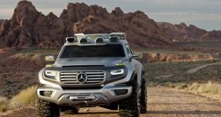 Mercedes-Benz Ener-G-Force Concept Vehicle.