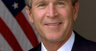 ۰۳۰۱۱۴-O-0000D-001 President George W. Bush.  Photo by Eric Draper, White House.