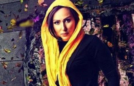 خانم بازیگر مشهور ایرانی عاشق فصل پاییز! + عکس