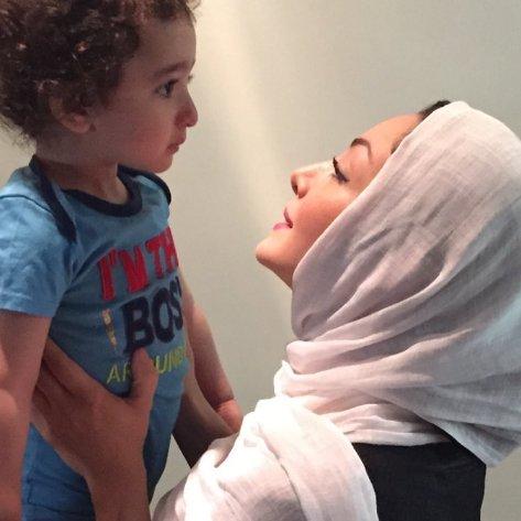 عکس جدید شیلا خداداد و پسرش سامیار