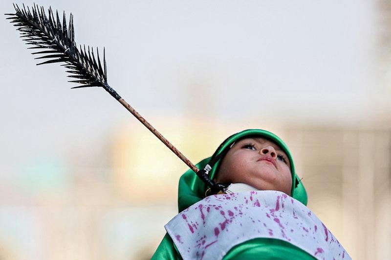 زیباترین عکس از همایش شیرخوارگان حسینی