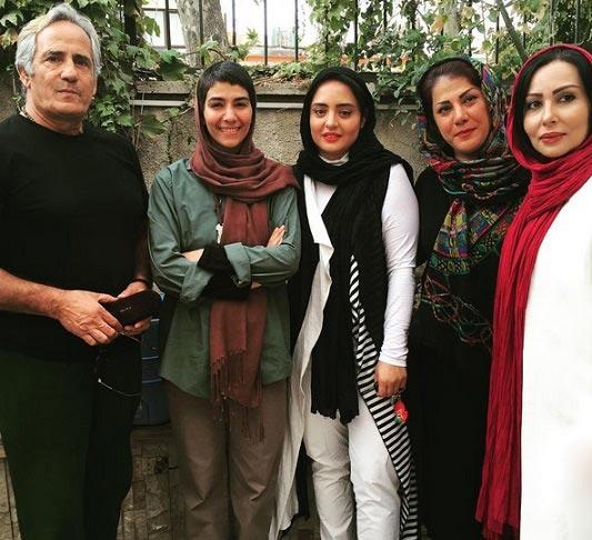 نرگس محمدی در کنار بازیگران مشهور + عکس