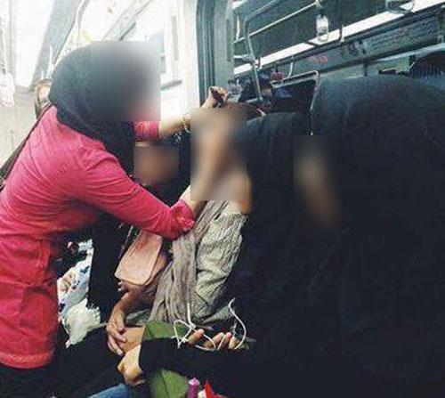 آرایشگاه زنانه در داخل مترو تهران! / عکس
