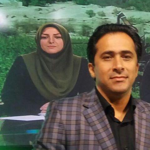عکس جالب خانم مجری معروف و همسرش!