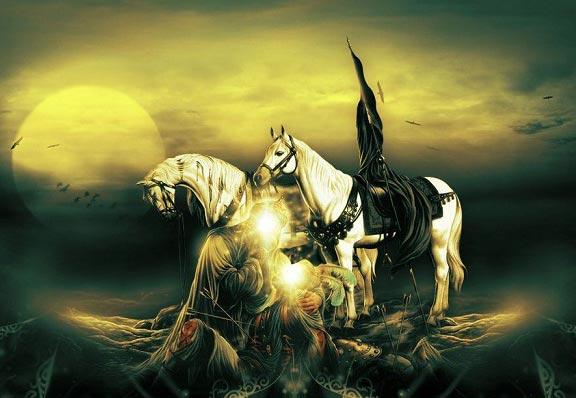 چه کسی پیکر امام حسین (ع) را به خاک سپرد؟!