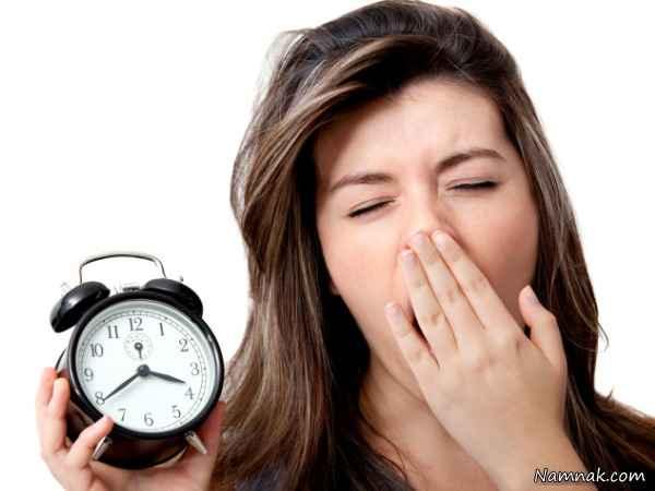 آیاد دیر خوابیدن باعث افزایش وزن میشود؟