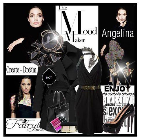 جدیدترین مدل های ست لباس پاییزی /سبک آنجلینا جولی