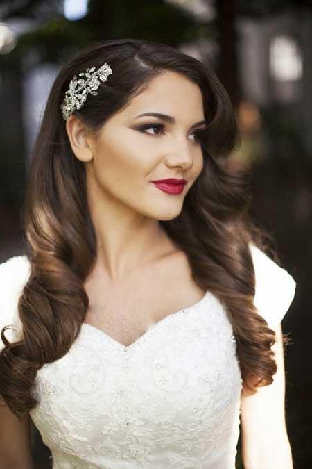 شیک ترین مدل های موی عروس ۲۰۱۵