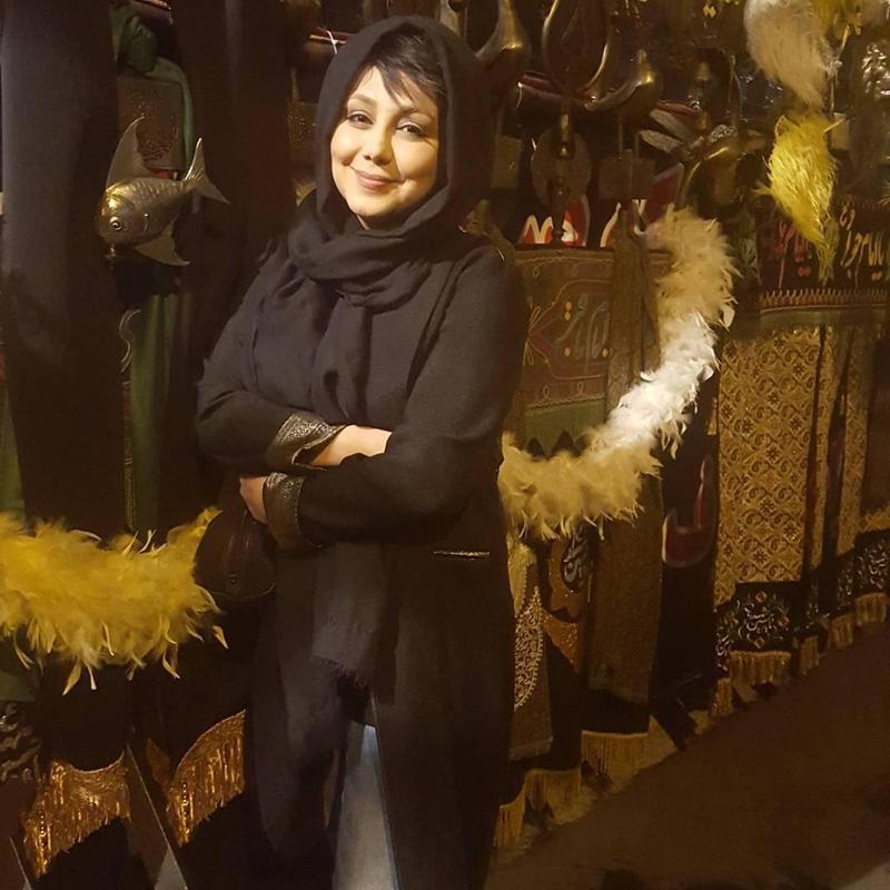 تصاویر هنرمندان در عزاداری ایام محرم