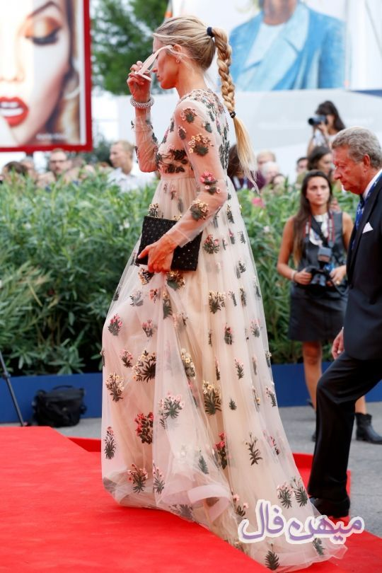 لباس های فوق العاده بازیگران در جشنواره فیلم ونیس