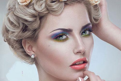 مدل های زیبا از آرایش و گریم صورت