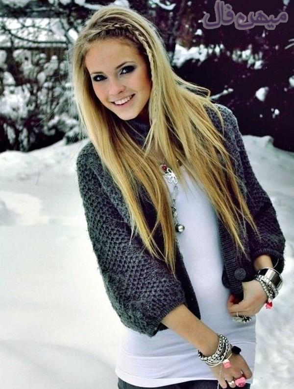 مدل های مو زیبا زمستانه مخصوص خانم ها