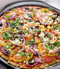 طرز تهیه پیتزا فلفل گیاهی