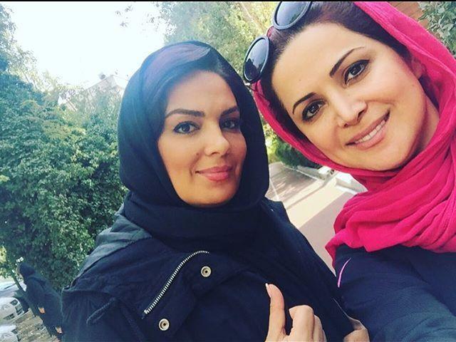 عکس های سارا خوئینی ها و کمند امیرسلیمانی آبان ۹۴