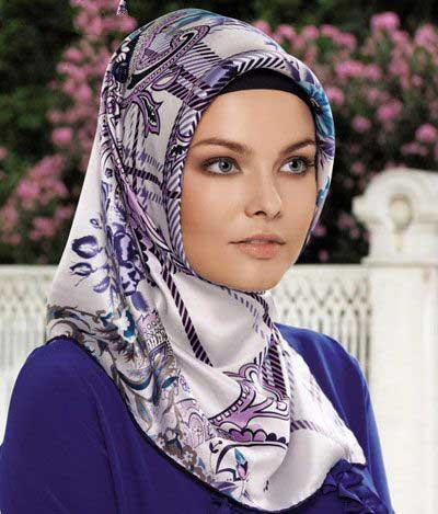 زیباترین و جدیدترین مدل های روسری