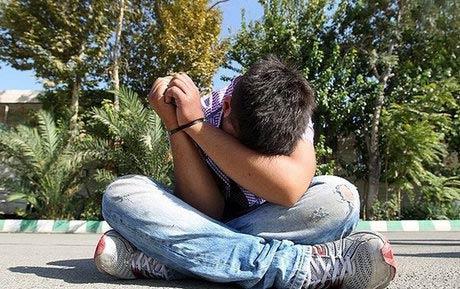 بازداشت کوچکترین زورگیر تهران! + عکس