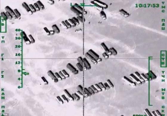 بلایی که روسیه بر سر داعش آورد! + عکس