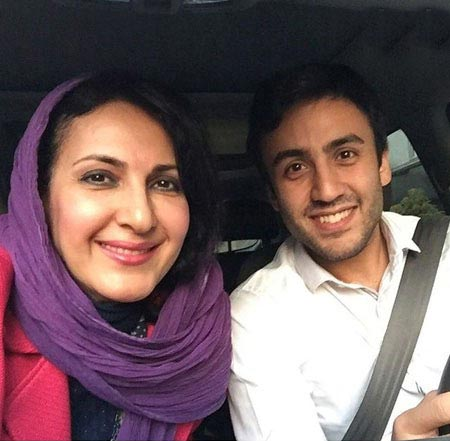 عکس جدید فاطمه گودرزی و پسرش