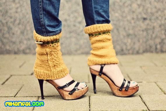 ۵ نکتهی پاییزی برای استفاده کفشهای پاشنه بلند