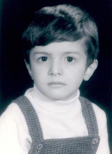 بنیامین بهادری وقتی کوچولو بود! / عکس