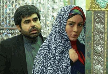 سحر قریشی با چادر در امامزاده! + عکس